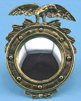 Dollhouse Miniature Eagle Mirror