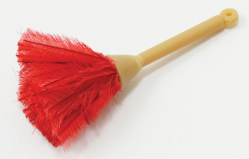 Dollhouse Miniature Feather Duster