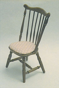 Dollhouse Miniature M-500 Duxbury Chair Minikit, Brown
