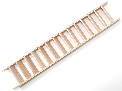 Dollhouse Miniature Stairs, Narrow, Assembled, 2 X 11-1/8