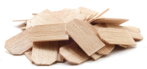 Dollhouse Miniature Shingles: Cedar Hex 1,000/Pk = 5Sf