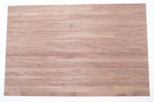 Dollhouse Miniature Wood Floor, Dark Mixed Widths, 11X17