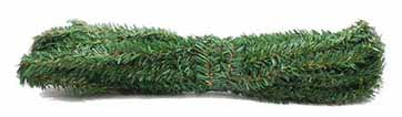 Dollhouse Miniature Canadian Pine Roping 12.5Ft, 3/4Inch