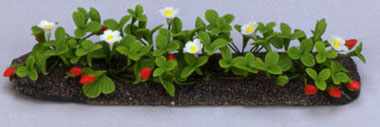 Dollhouse Miniature Strawberries Garden