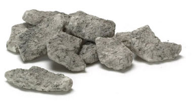 Dollhouse Miniature Pathway 12Pcs, Grey