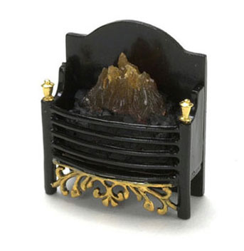 Dollhouse Miniature Fireplace Box, Small