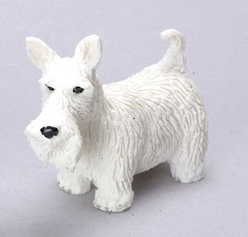 Dollhouse Miniature West Highland Terrier