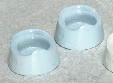 Dollhouse Miniature Potty, Blue, 2Pc