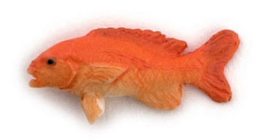 Dollhouse Miniature Red Snapper