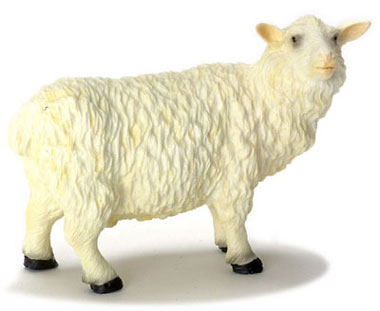 Dollhouse Miniature Sheep/Male