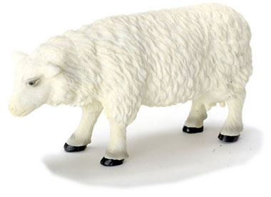 Dollhouse Miniature Sheep/Female