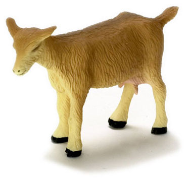 Dollhouse Miniature Goat