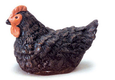 Dollhouse Miniature Hen