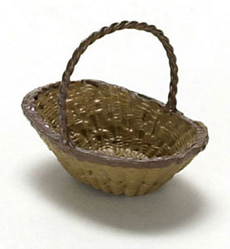 Dollhouse Miniature Basket 3Pcs