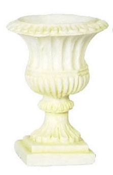 Dollhouse Miniature Roma Urn/Ivory 6Pcs