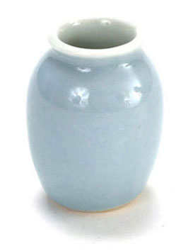 Dollhouse Miniature Big Jar Blue