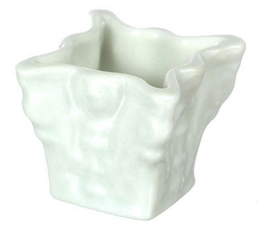 Dollhouse Miniature Porcelain Planter/Angle