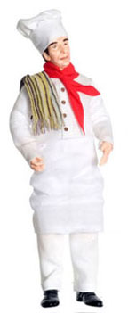 Dollhouse Miniature Chef