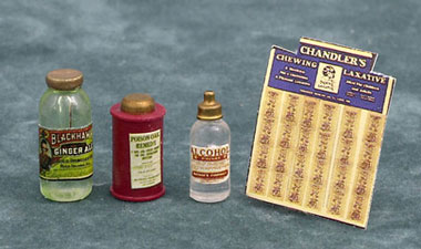 Dollhouse Miniature General Store Assortment