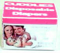 Dollhouse Miniature Cuddlies Disposable Diapers