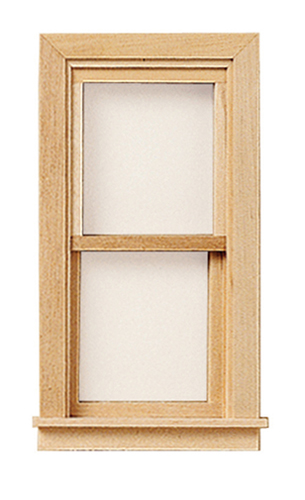 Dollhouse Miniature Standard Working Window W/Pane