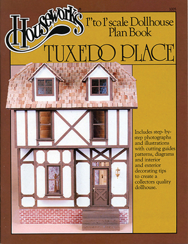 Dollhouse Miniature Plan Book: Tuxedo Place
