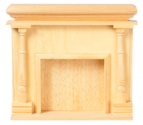 Dollhouse Miniature Monticello Fireplace