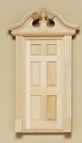 Dollhouse Miniature Single Deerfield Door