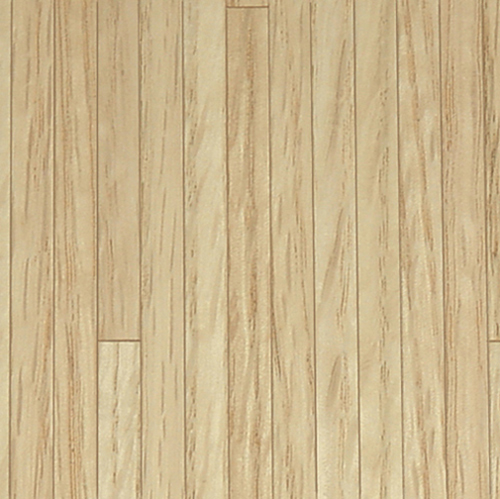 Dollhouse Miniature Flooring, Red Oak