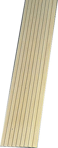 "Dollhouse Miniature 1/4"" wide board Clapboard, 10Pk 24 In"