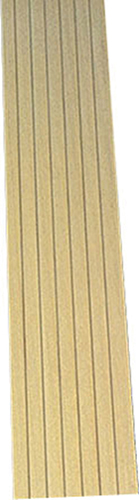 "Dollhouse Miniature 1/2"" wide board Clapboard, 10/Pk 12 In."