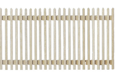 Dollhouse Miniature Picket Fence, 4/Pk