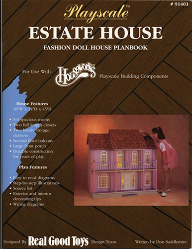 Dollhouse Miniature Playscale: Estate Plan book