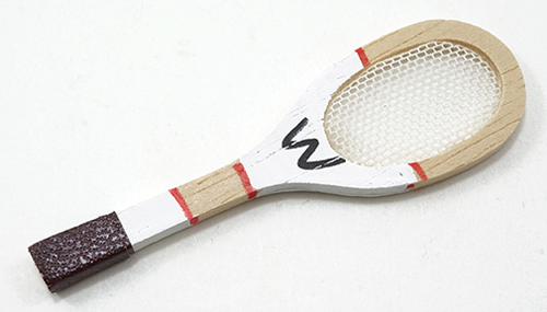 Dollhouse Miniature Tennis Racket