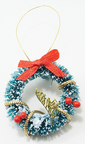 Dollhouse Miniature Wreath
