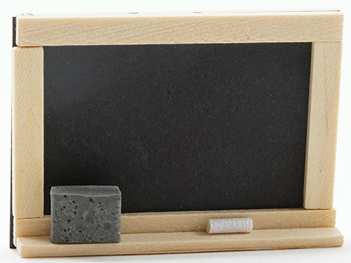 Dollhouse Miniature Chalk Board