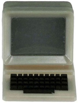 Dollhouse Miniature Computer