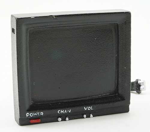 Dollhouse Miniature Television