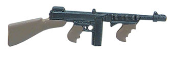Dollhouse Miniature Thompson Submachine Gun
