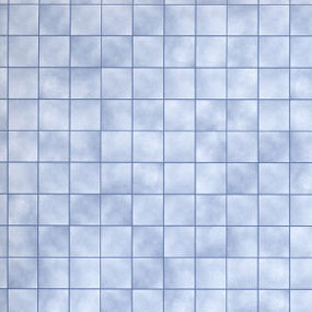 Dollhouse Miniature Floor Paper: Blue Marble Tiles
