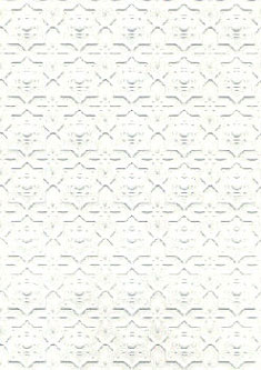 Dollhouse Miniature Wallpaper: Embossed Dado