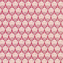 Dollhouse Miniature Wallpaper: Ottoman-Red
