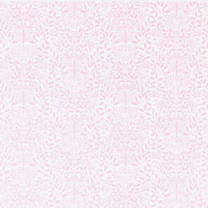 "Dollhouse Miniature Wallpaper:1/2"" Scale Acorns, Pink On White"