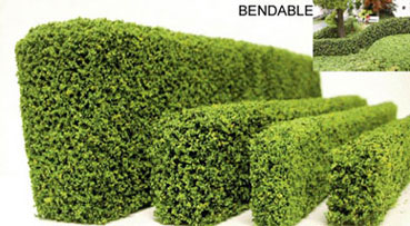Dollhouse Miniature Hedge-Coated 1.25 X 1/2 X 12, 1Pc