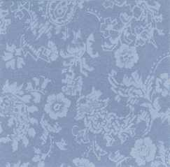 Dollhouse Miniature Wallpaper,  Damask, Periwinkle