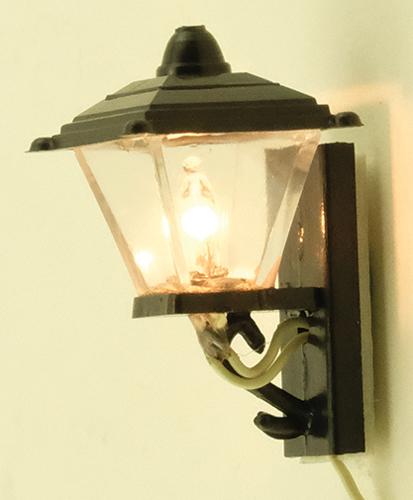 Beautiful Black Coach Lamp