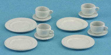 Dollhouse Miniature Dinner Set