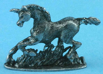 Dollhouse Miniature Unicorn-Antiqued