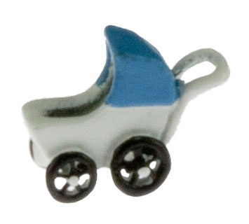 Dollhouse Miniature Baby Carriage