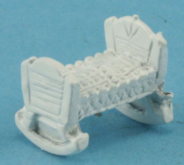 Dollhouse Miniature Cradle